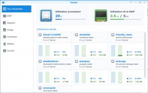 Interface Docker