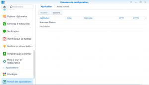 Reverse Proxy - Applications